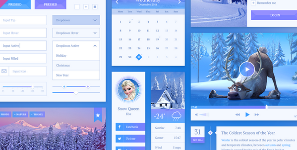 free ui kit psd for 2015 6