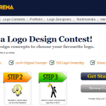 Get beautiful logos from Logoarena.com, a crowd sourcing platform for logo designs
