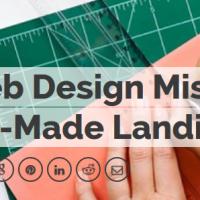 web design mistake