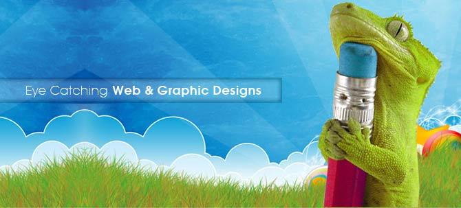 eye catching web design