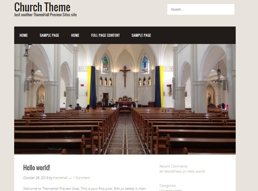5) Church