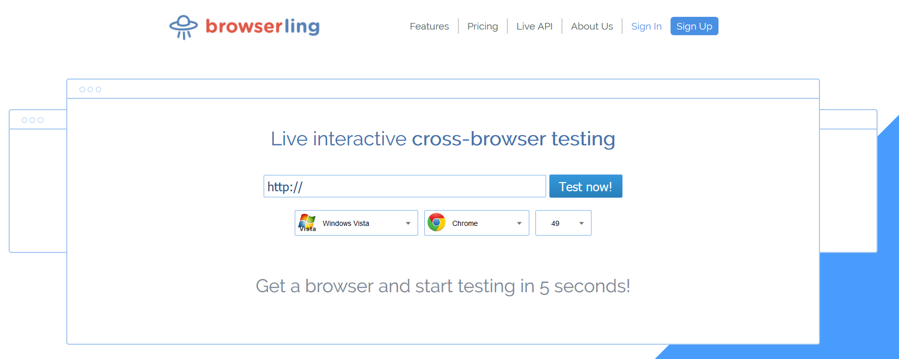 browserling screenshot