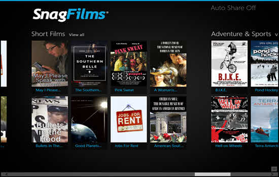 SnagFilms app review