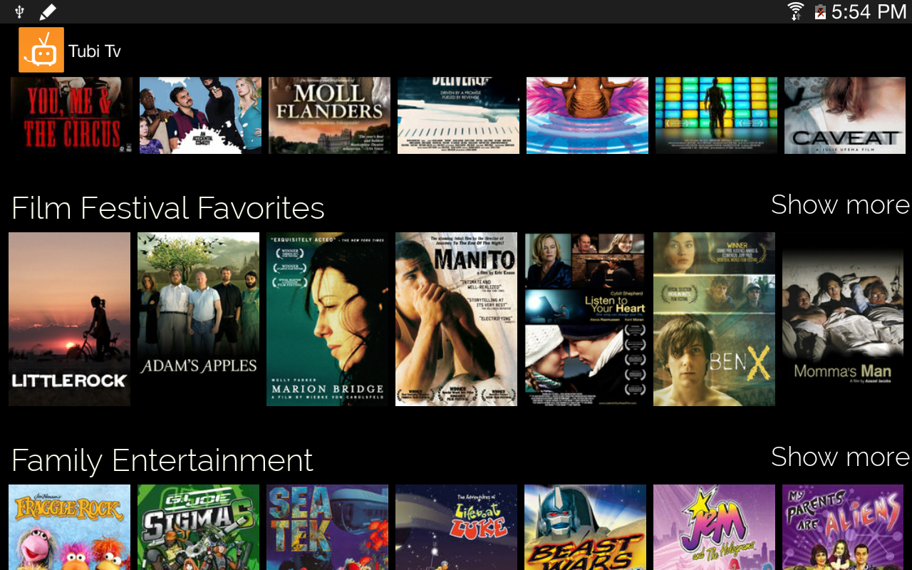 Tubi TV app review