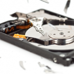 Dealing with a broken hard drive in New York