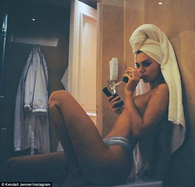 Kendall Jenner photoshop fake