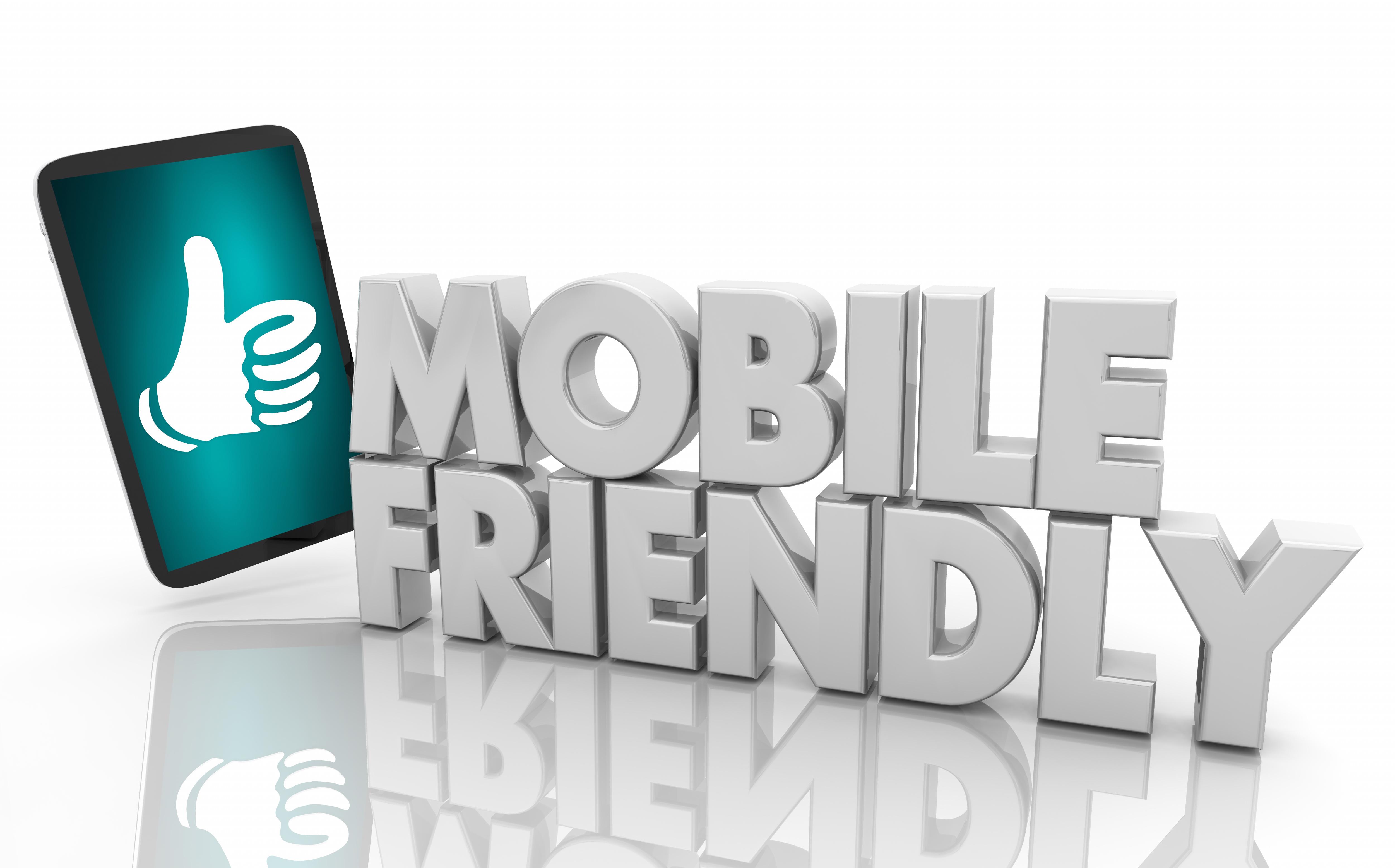 Mobile Friendly Phone Platform Device User Experience Design 3d Illustration